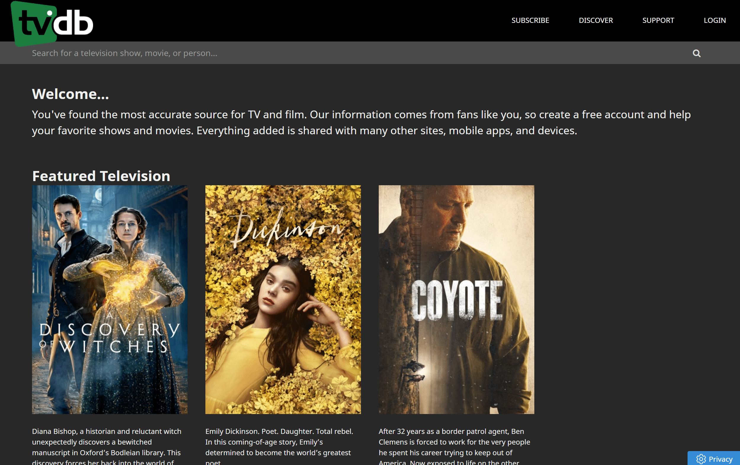 TheTVDB - How to register movies and tv shows on TheTVDB