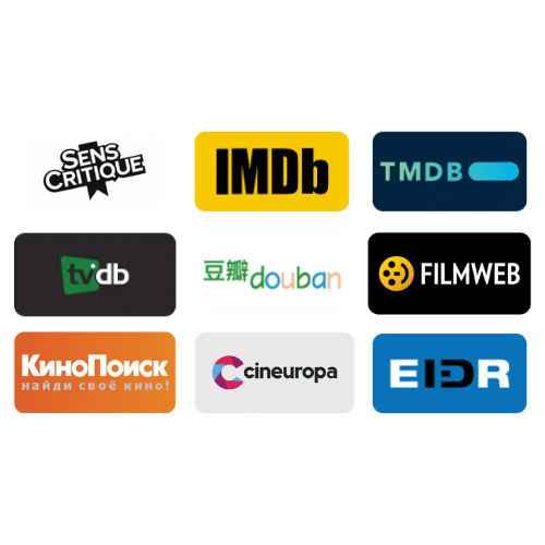 Audiovisual Databases - Register your movies and tv shows